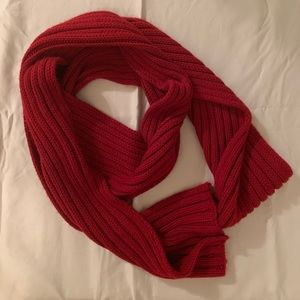 Winter Scarf - Red